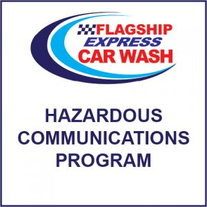 SDS & HAZCOM – Flagship Express Car Wash